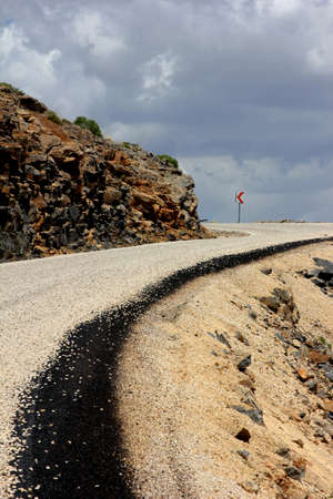 fine cane: Road