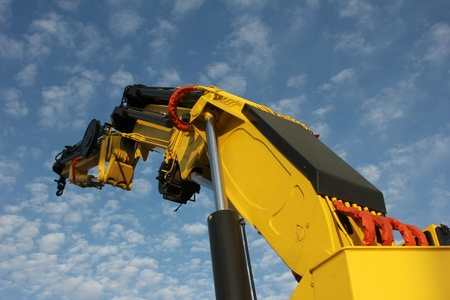 workingman: crane Stock Photo