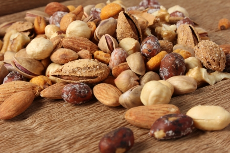 mixed nuts: Nuts