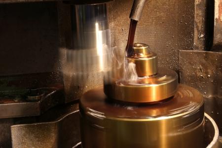 マシン油 写真素材