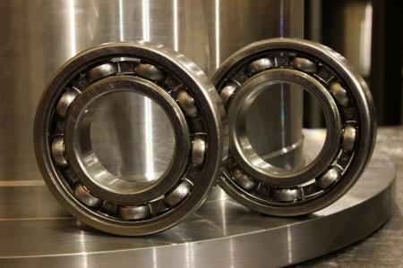 rotund: Ball bearing Stock Photo