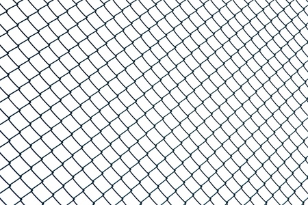 chainlink fence: Metal mesh