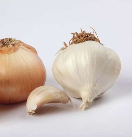 Onion and Garlic photo