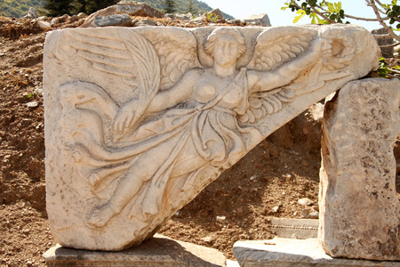 winning location: Ephesus Stock Photo