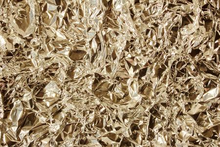 crumpled aluminum foil photo