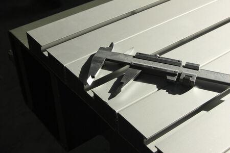 profile measurement: caliper and aluminum