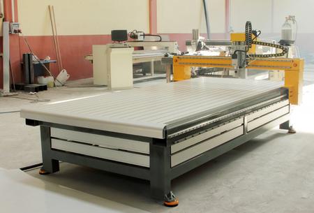 Laser Cutting Stock Photo