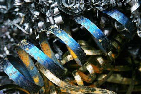 scrap metal: rottami metallici Archivio Fotografico