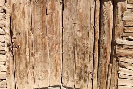 cipher: wood door