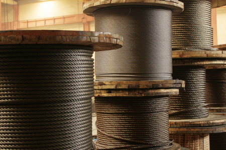 steel cable: steel cable