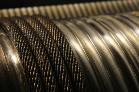heavy effect: wire rope