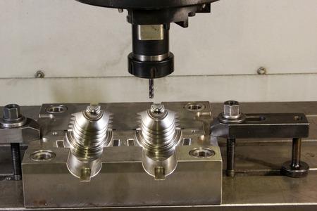 CNC lathe processing