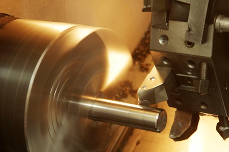 lathe: Lathe Stock Photo