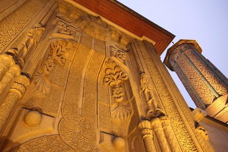 seljuk: Ince Minare Medrese Konya Turkey