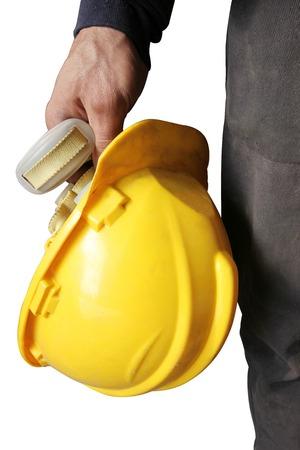 safety hat: Worker