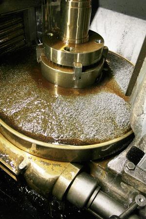 machine tool: Lathe Stock Photo