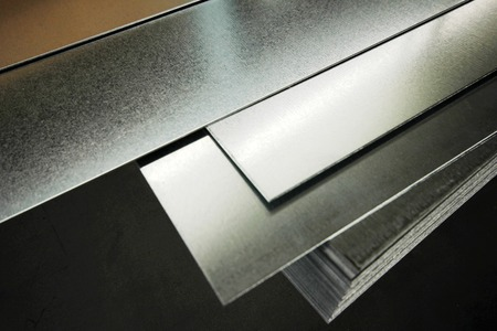 Metal Standard-Bild
