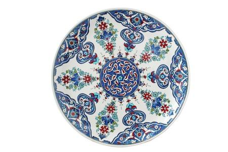decorative plate Stock Photo