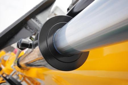 Hydrauliksystem Standard-Bild - 43650544