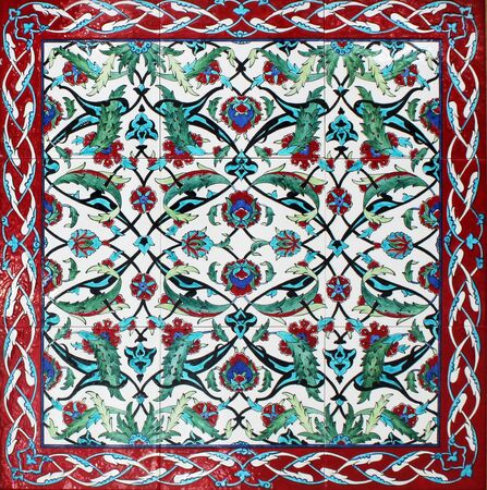arabic style: Turkish Tiles