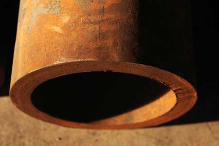 alloy: Rusty Pipes Stock Photo