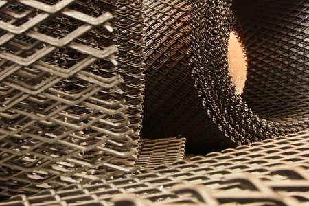 enclosure: Metal mesh