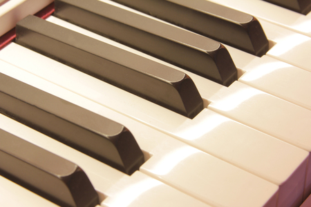musical instrument parts: Piano Stock Photo