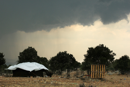 turkish ethnicity: Nomadic Tent