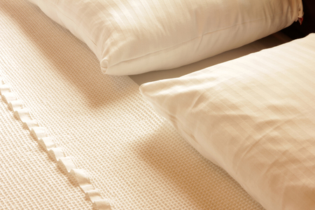 showcase interiors: bed sheets and pillows