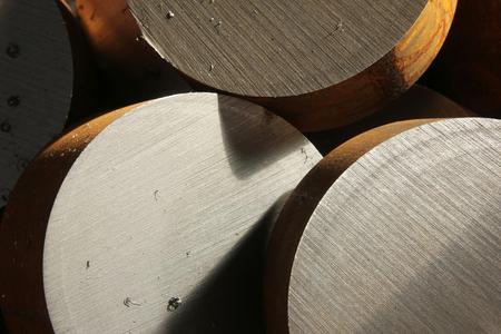aluminum rod: Metal Stock Photo