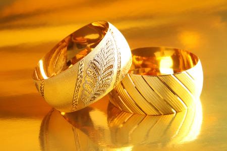 and gold: Gold bracelets