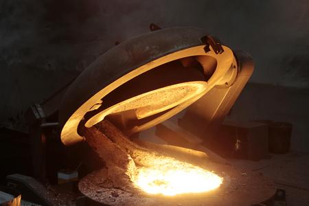 ductile: Liquid Steel Industry