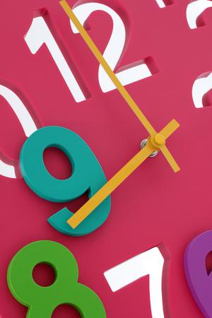 at close quarters: Clock