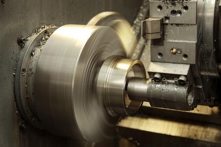 metalworking: Metalworking CNC Stock Photo