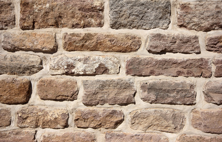 man made structure: Stone Wall Stock Photo