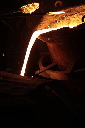molten: Liquid Molten Steel Industry