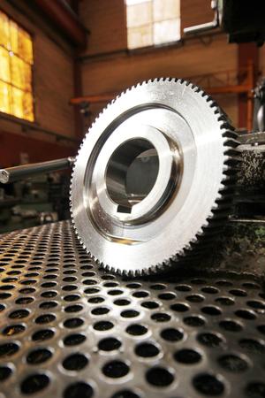 machine teeth: Gear Wheel Stock Photo