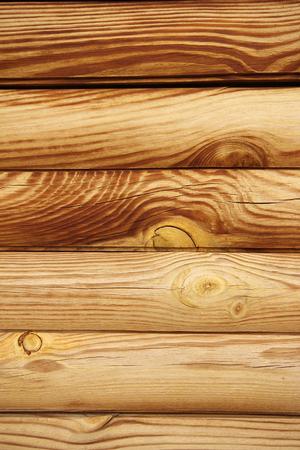 Rustic Log Cabin Wall