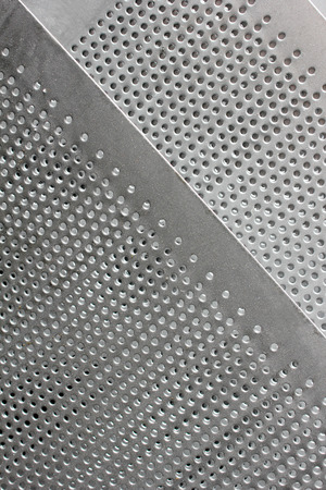 grid: Metal Grid Stock Photo