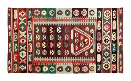 rugs: handmade antique rugs Stock Photo