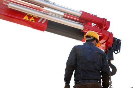 elevator operator: Crane Operator