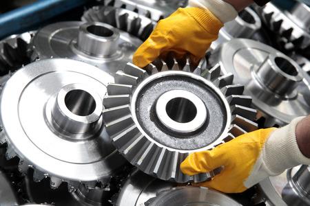 gear wheel: Gear wheel and workman