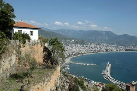 Cityscape of AlanyaTurkey