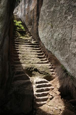 konya: Ancient stone steps