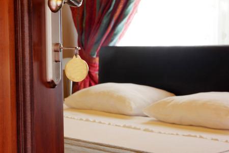 no entrance: Hotel Room