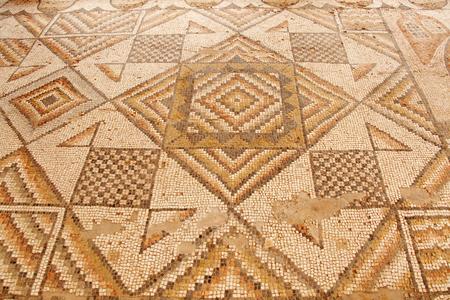 Historic mosaic flooring
