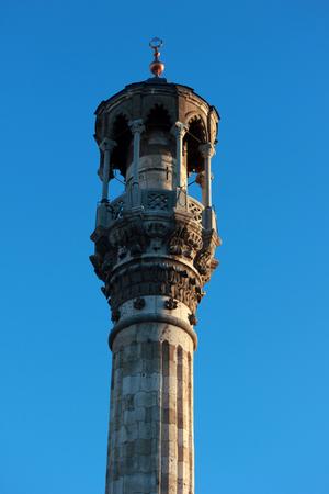 Minarets of Aziziye mosque Stock Photo