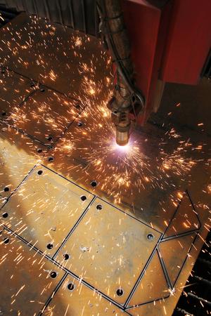 The CNC laser cut machine