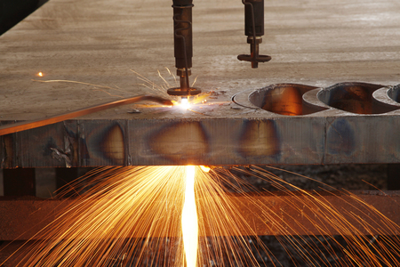 Laser / plasma CNC metal cutting