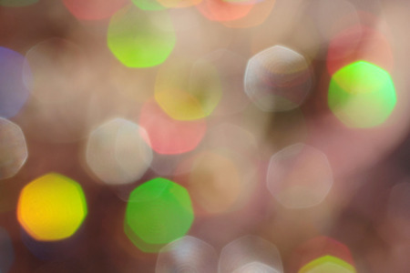 Abstract bokeh backlight background. Stock Photo
